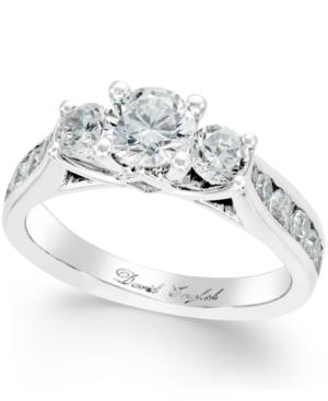 Diamond Three-Stone Engagement Ring (2 ct. t.w.)
