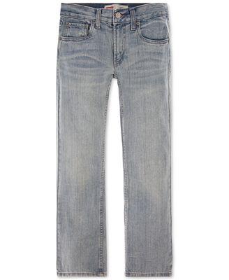Levi's® Boys' Husky 527 Bootcut Jeans - Jeans - Kids & Baby - Macy's