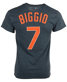 Men's Craig Biggio Houston Astros Cooperstown Player T-Shirt