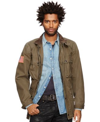Denim and supply waxed jacket