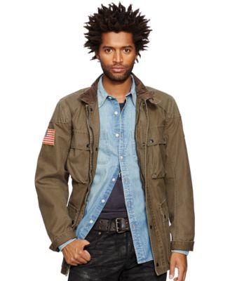 Denim and supply waxed jacket