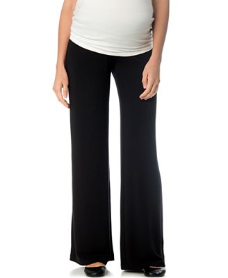 A Pea In The Pod Maternity Wide-Leg Lounge Pants