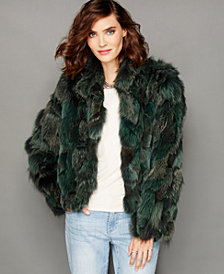 The Fur Vault Fox Fur Jacket