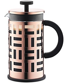 Eileen 8 Cup Copper French Press Coffee Maker