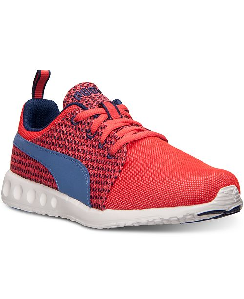 Puma Women's Carson Runner Knit Casual Sneakers from Finish Line