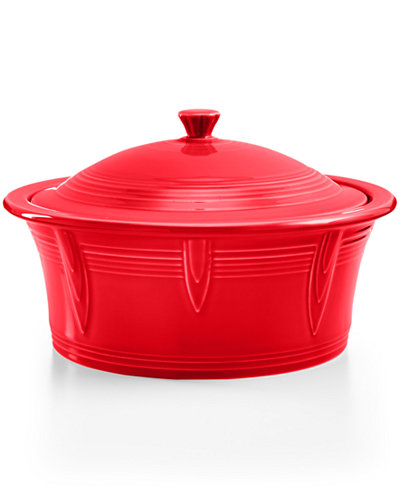 Fiesta Scarlet Covered Casserole