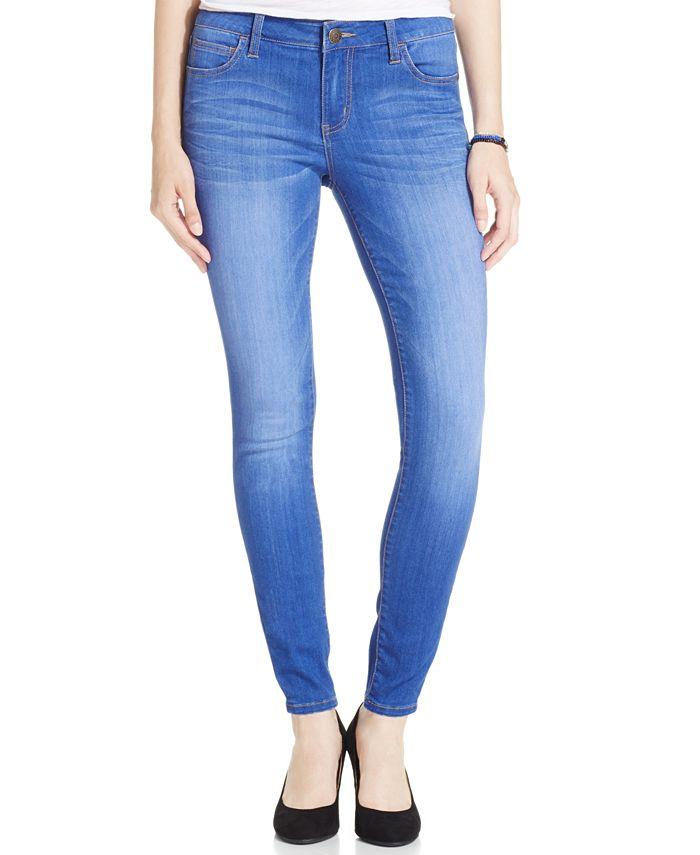 Celebrity Pink - Juniors' Black Wash Skinny Jeans
