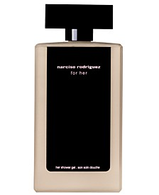 for her shower gel, 6.7 oz