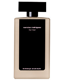 narciso rodriguez for her shower gel, 6.7 oz