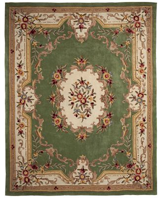 Km Home Closeout Majesty Aubusson 7 6 X 9 6 Area Rug Created For