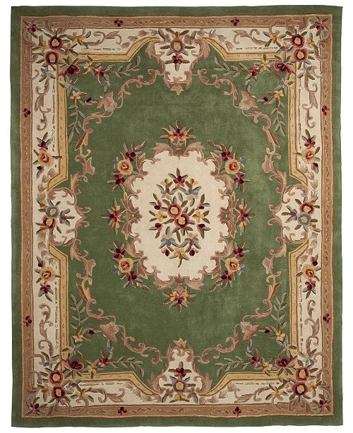 Km Home Closeout Majesty Aubusson 76 X 96 Area Rug Created For