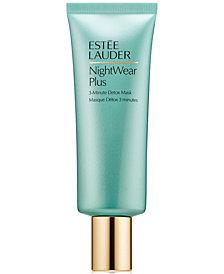 Estée Lauder NightWear Plus 3-Minute Detox Mask, 2.5 oz