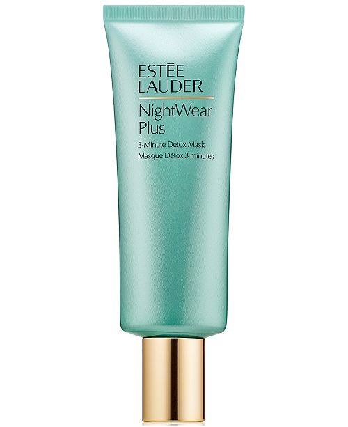 Estee Lauder NightWear Plus 3-Minute Detox Mask, 2.5 oz