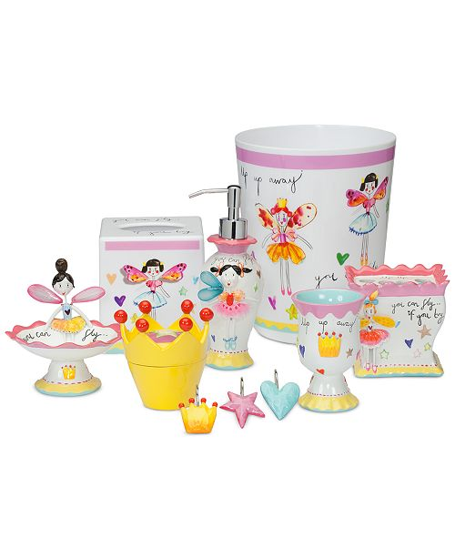 Creative Bath Faerie Princess Accessories Collection - Bathroom ...