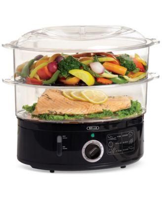 Bella 13872 2-Tier Food Steamer - Small Appliances - Kitchen - Macy's