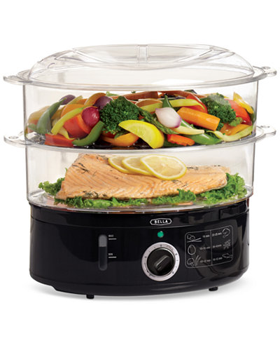 Bella 13872 2-Tier Food Steamer