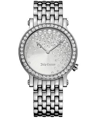 Juicy Couture Women's LA Luxe Stainless Steel Bracelet Watch 36mm 1901279