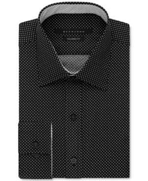 Sean John Men's Dot Print Dress Shirt