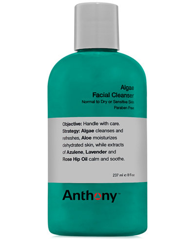 Anthony Men's Algae Facial Cleanser, 8 oz