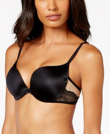 Love the Lift Push Up & In Satin Plunge Underwire Bra DM9900