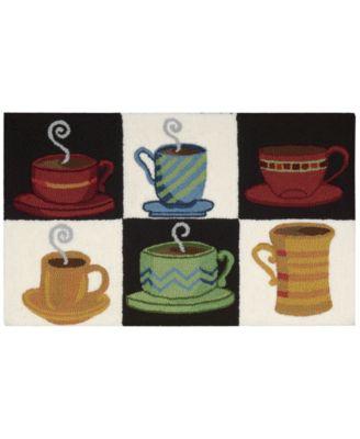 Nourison Coffee 20  x 33  Kitchen Rug  sc 1 st  Macyu0027s & Nourison Coffee 20