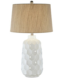 Pacific Coast Honeycomb Dreams Ceramic Table Lamp