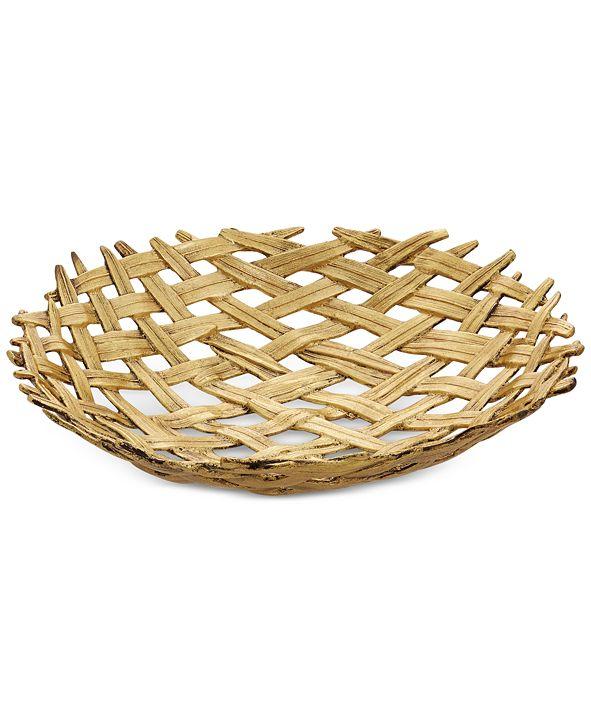 Michael Aram  Antique Palm Centerpiece Bowl