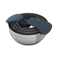Joseph 100 Collection Nesting Steel Bowls & Measuring Cup Set