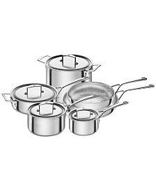Zwilling J.A Henckels Aurora 10-Pc. Cookware Set