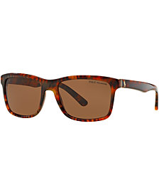 Polo Ralph Lauren Polarized Sunglasses, PH4098 57
