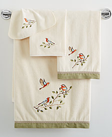 Avanti Bird Choir Bath Towel Collection