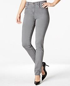 Tummy-Control Slim-Leg Jeans, Created for Macy's