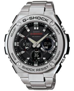 G-Shock Men's Analog-Digital Stainless Steel Bracelet Watch