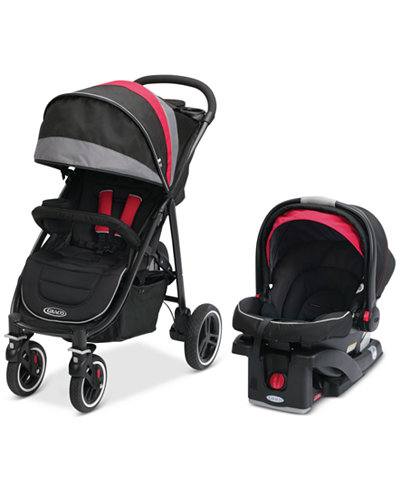 graco baby aire4 xt stroller snugride click connect 35 infant car seat travel system set. Black Bedroom Furniture Sets. Home Design Ideas