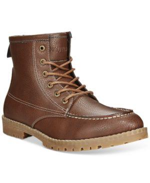 Nautica Madryn Moc-Toe Boots Men