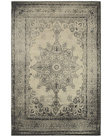 "Oriental Weavers Richmond Medallion Ivory/Grey 3'10"" x 5'5"" Area Rug"