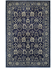 "Oriental Weavers Richmond Fortune Navy/Grey 7'10"" x 10'10"" Area Rug"
