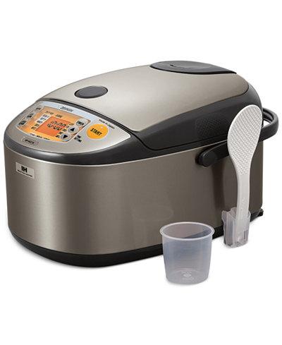 Zojirushi NP-HCC18XH Induction Heating 10-cup Rice Cooker & Warmer
