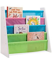 Honey-Can-Do Kids Pastel Itsy-Bitsy Book Rack