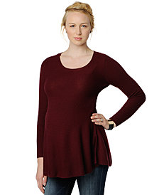 A Pea in the Pod Maternity Peplum Tunic Sweater
