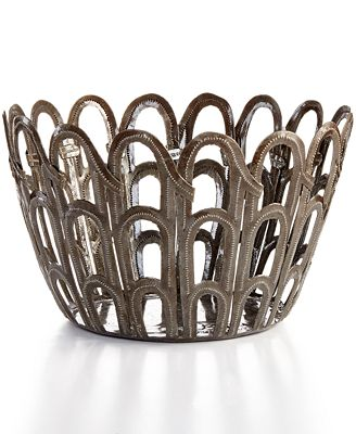Heart of Haiti Recycled Metal Arches Bowl