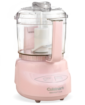 Add a touch of pink to your food prep. This peppy little food processor makes a big impression with patented reversible blades and an innovative design to help you switch seamlessly from chopping to grinding with the push of a button. 18-month manufacturer\\\'s warranty. Model Dlc-2A.