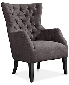 Adelyn Button Tufted Wing Back Chair