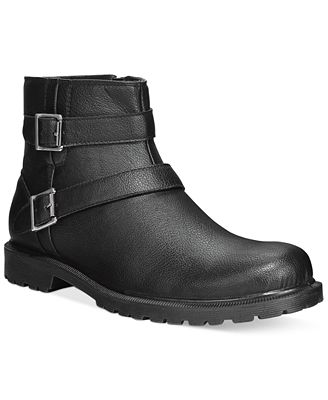 Alfani Men&39s Carmine Double Buckle Boots Only at Macy&39s - All
