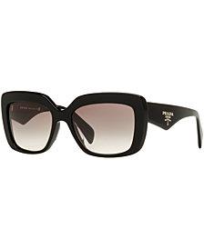 Prada Sunglasses, PRADA PR 03QSA 55 ASIAN FIT