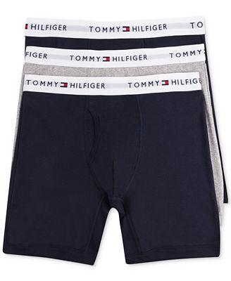 logo briefs - Grey Tommy Hilfiger