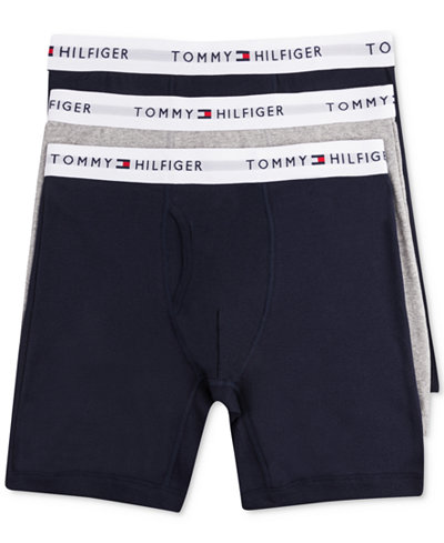 tommy hilfiger men 39 s cotton boxer brief 3 pack 09te001. Black Bedroom Furniture Sets. Home Design Ideas