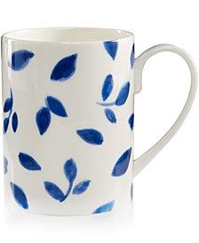 Martha Stewart Collection Porcelain Stockholm White Mug, Created for Macy's