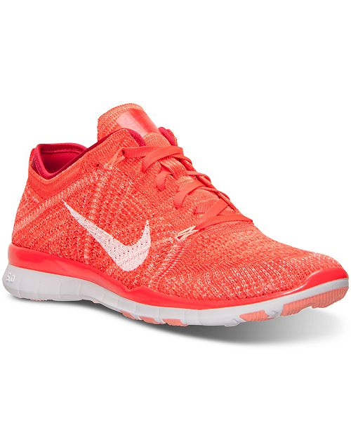 new style f7458 c59bc ... Nike Women s Free TR Flyknit Training Sneakers from Finish ...