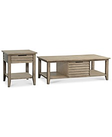 Kips Bay 2 Piece Set (Coffee and End Table), Created for Macy's